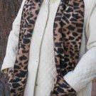 Leopard design Handwarmer Pocket Winter Scarf Design Fleece Neck 70 x 8 S2009715
