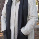 Long Grey Pocket Handwarmer Pocket Winter Scarf Design Fleece Neck 72 x 9 S2009725