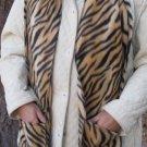 Tiger Design Fleece Handwarmer Pocket Winter Scarf Design Neck 71 x 9 S2009739