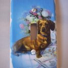 LIGHTSWITCH PLATE COVER Dogs Dachshund Handmade in the USA