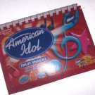 Recycled Upcycled Journal Notebook made from AMERICAN IDOL Fruit Snack Box Handmade in the USA #ai01