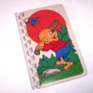 Journal Notebook Recycled Upcycled from BERENSTAIN BEARS CARDS Handmade in the USA #2010015