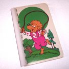 Recycled Upcycled Journal Notebook from BERENSTAIN BEARS CARDS Handmade in the USA #2010016