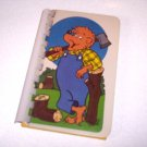 Recycled Upcycled Journal Notebook from BERENSTAIN BEARS CARDS Handmade in the USA #2010017