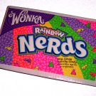 Journal NoteBook covered with Recycled NERDS CANDY BOX Made in USA #2010060