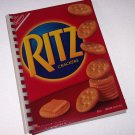 Journal Notebook Recycled Upcycled from RITZ CRACKER BOX Made in USA 2010084