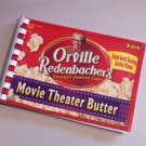 Journal Notebook Recycled Upcycled from ORVILLE REDENBACHER POPCORN BOX Made in USA 2010106