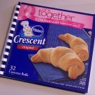 Notebook Journal Recycled Upcycled from CRESCENT ROLLS Box #2010108