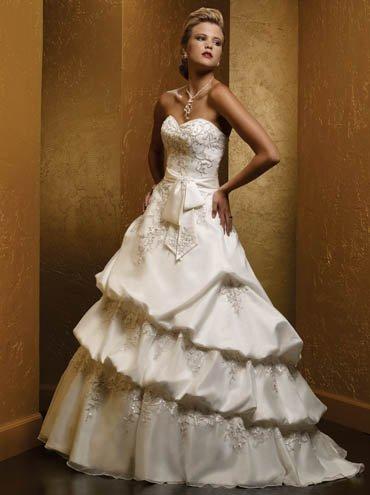 Customer wedding dresses SKU870064