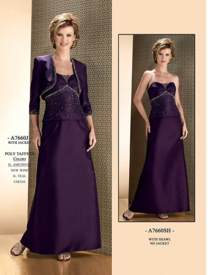 mother of brides dress SKU720120