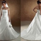Free shipping maggie sottero a line wedding dress Addison