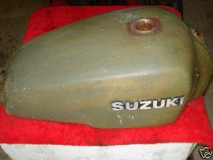 750 Suzuki Gas Tank