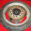 84 HONDA VF700 INTERCEPTOR VF 700 750 FRONT WHEEL+DISCS