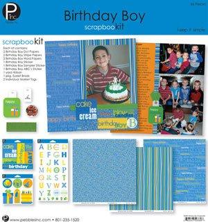 Bursdag Scrapbook kit