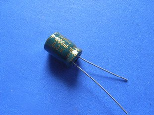 1000UF 6.3V Electrolytic Capacitor (Item# C0109)