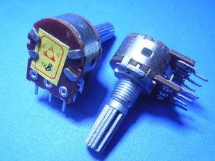 B type 1K (102) Double VR Potentiometer (Item# T0034)