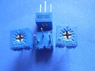 500K (504) Trimmer 3362P type (Item# T0035)