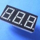 5361AS 0.56 Inch, red, common cathode 3-digit 7-segment module (Item# S0005)