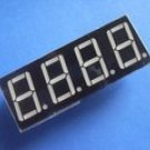 5461AS 0.56 Inch, red, common cathode 4-digit 7-segment module (Item# S0023)