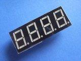 5461AS 0.56 Inch, red, common cathode 4-digit 7-segment module (Item# S0023)