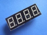 5461BS 0.56 Inch, red, common anode 4-digit 7-segment module (Item# S0024)