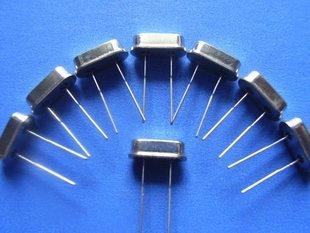 27MHz Crystal oscillator small size, 10 pcs.  (Item# X0010)