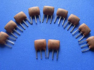 4MHz Ceramic Filter, 3 legs, 10 pcs.  (Item# X0028)