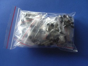 Transistor, Mixed Package, TO-92, total 20 pcs. (Item# Q0025)