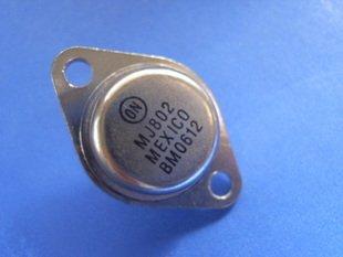 Transistor, MJ802, TO-3, 2 pcs. (Item# Q0206)