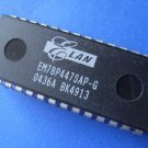 IC, microcontroller / memory, EM78P447SAP-G, 4 pcs. (Item# M0038)