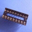 IC Socket, 18 pin DIP, 0.1 inch pitch, 30 pcs. (Item# S0002)