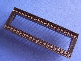 IC Socket, 40 pin DIP, 0.1 inch pitch, 16 pcs. (Item# S0010)