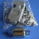 Connector / Socket, DB-15 Female, 3-row (VGA), 4 sets. (Item# S0125)