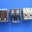 Connector / Socket, USB-A Female, angled, 15 pcs. (Item# S0150)