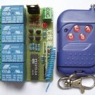 Remote Control,  5V to 15V operation, 4 channel, Momentary Mode. (Item# RE002)