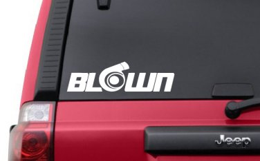 Blown V1 Decal JDM Sticker Vinyl Stance Lowered Illest Fatlace Racing Turbo
