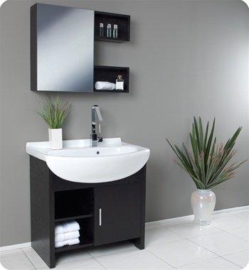 Migliore w/ Large Ceramic Sink Bathroom Vanity, Vanity Sink, Sink Vanities