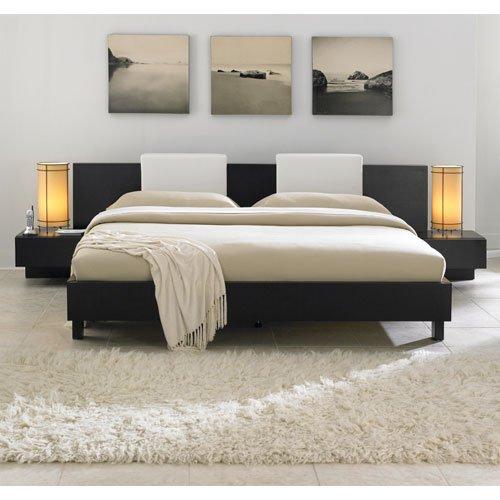 Monroe King Modern Bed Furniture, Contemporary Bedroom Furniture, Platform Bed