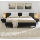 Monroe King Modern Bed Furniture, Contemporary Bedroom Furniture, Platform Bed