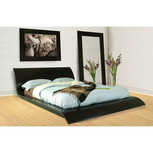Waverly King Modern Bed Furniture, Contemporary Bedroom Furniture, Platform Bed
