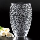 Badash Crystal 12 in Nirvana Glass Vase Table Centerpiece