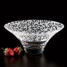 Badash Crystal 10 inch Nirvana Glass Bowl Table Centerpiece
