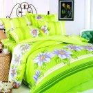 Orchid 6- piece King Size Duvet Bedding Set by Le Vele
