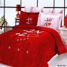 """-2N +2"" 6- piece Queen Size Duvet Bedding Set by Le Vele"