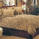 All Over Floral 9 PC QN Comforter Set by Hallmart Collectibles