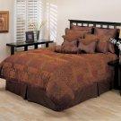 Arizona 10 PC King Comforter Set by Hallmart Collectibles