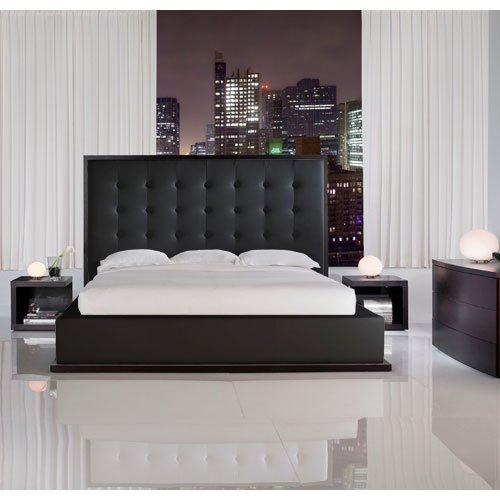 pictures of contemporary bedrooms ludlow king modern bed furniture contemporary bedroom 16659