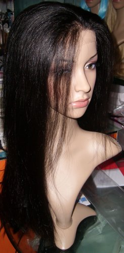 22 inch Remy Indian Front Lace Wig