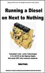 Running a Diesel on Next to Nothing  By Robert Franks - book and license only