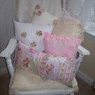 """""""Girly Girl"""" Handmade Pillow"""